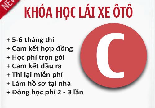 Học Bằng Lái Xe Ô Tô Hạng C Tại TPHCM Cấp Tốc & Uy Tín Nhất