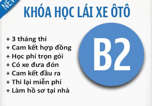 Đào Tạo Học Bằng Lái Xe Ô Tô Hạng B2 Tại TPHCM Chất Lượng Cao